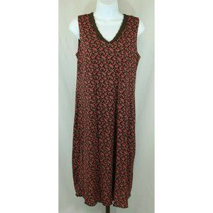 Old Navy Ladies Floral Sleeveless Maternity Dress